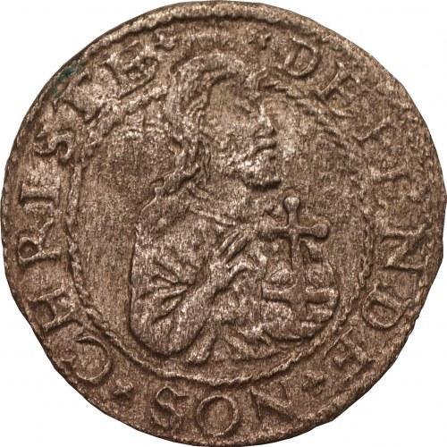 Stefan Batory - Gdańsk - szeląg oblężniczy 1577 - R3