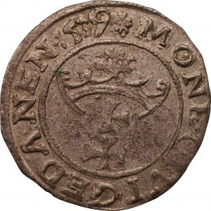 Gdańsk - Zygmunt I Stary - szeląg 1539 -