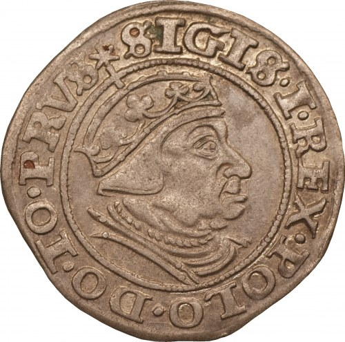 Gdańsk - Zygmunt I Stary - grosz 1539 -