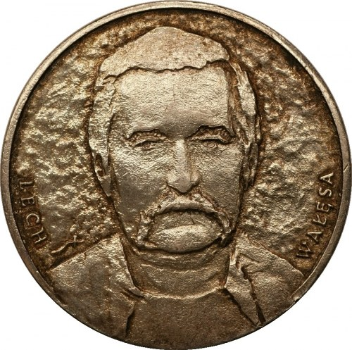 Medal Lech Wałęsa - Solidarność - Ag 925