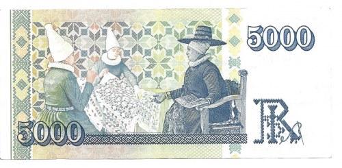 ISLANDIA - 5000 koron 2001 -