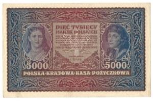 5000 marek polskich 1920 - II Serja Z