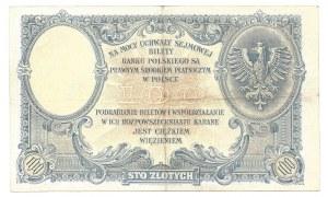 100 złotych 1919 - S.B. -