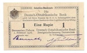Afryka Wschodnia - 1 rupia 1916 -