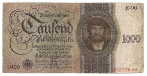 Niemcy - 1000 reichsmark 1924 - A -