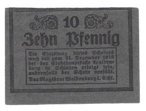 WAŁBRZYCH - 10 fenigów 1918 -