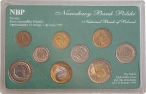 Monety Rzeczpospolitej Polskiej wprowadzone do obiegu 1 stycznia 1995