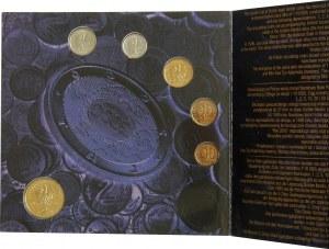 Narodowa Waluta Polski - zestaw rocznikowy 1999 -
