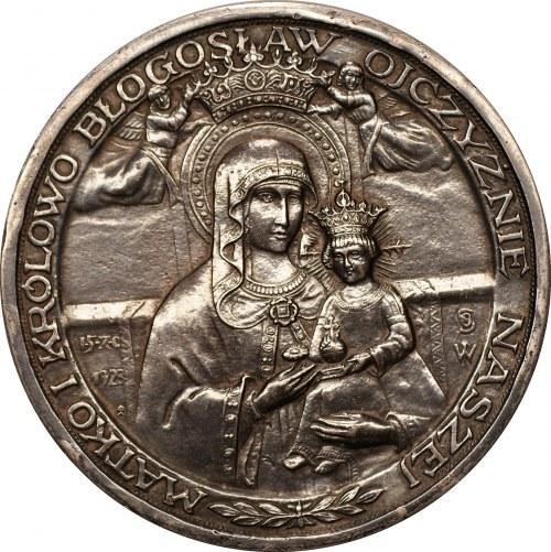 Medal Koronacja obrazu Matki Boskiej w Gostyniu 1928 - Ag0,950