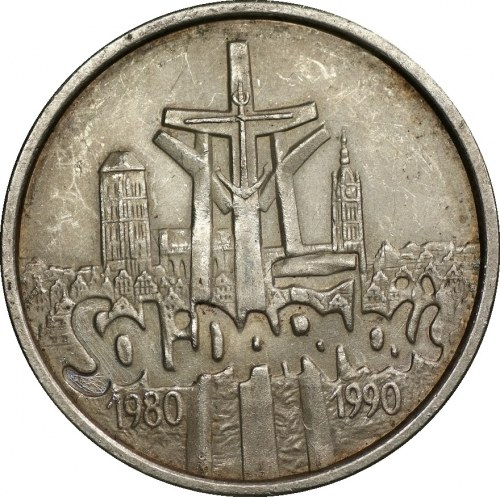 100 000 złotych 1990 Solidarność - typ B