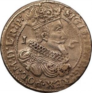 Zygmunt III Waza - Gdańsk - ort 1626 , data przebita z 1625