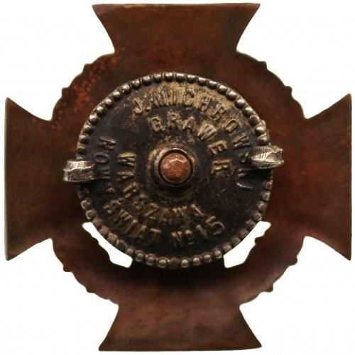 Odznaka Związku Byłych Uczestników Straży Kolejowej 1918-1919-1920