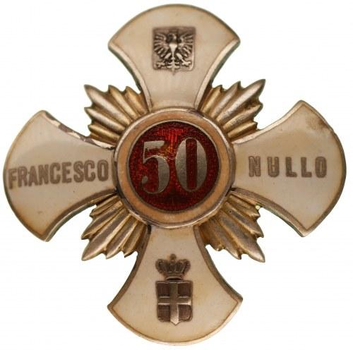 Odznaka 50 Pułk Piechoty Strzelców Kresowych im. FRANCESCO NULLO