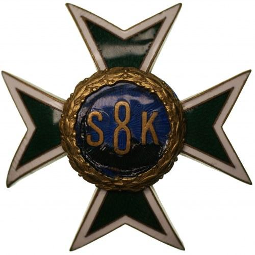 Odznaka 8 Pułk Strzelców Konnych Chełmno - RZADKA