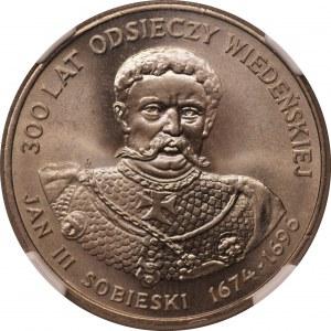 Jan III Sobieski - 50 złotych 1983 - NGC MS65