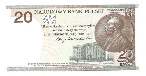 20 złotych 2011 - MS - niski numer seryjny 0000336