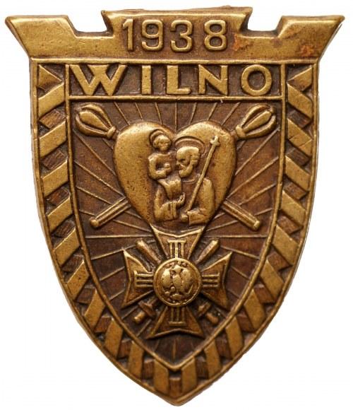 Odznaka patriotyczna Wilno 1938
