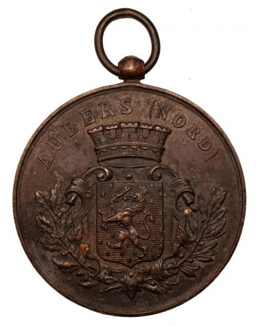 FRANCJA - Aubers - Medal - Festiwal muzyczny 27 maj 1888 -