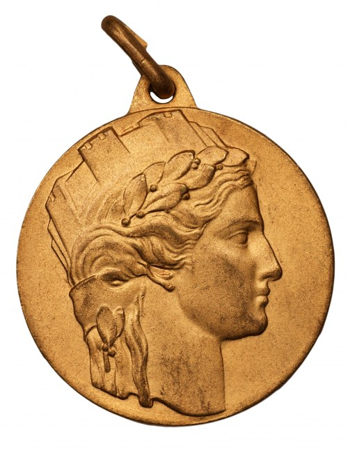 WŁOCHY medal Al Dottor - Aldo Ortensia