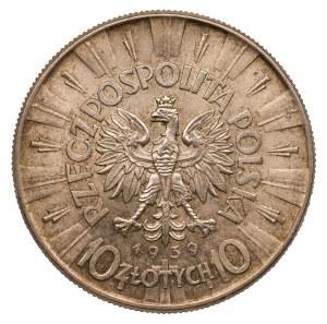 10 złotych 1939 - Józef Piłsudski