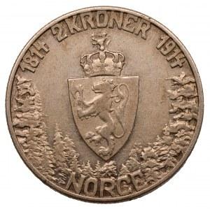 NORWEGIA - 100 koron 1914 - 100 lecie Norweskiej Konstytucji
