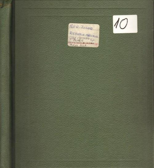 Album 10 ( Nowa Zelandia, Niue, Nigeria, Cocos, Ross Dependency, Watykan) - 109 str.
