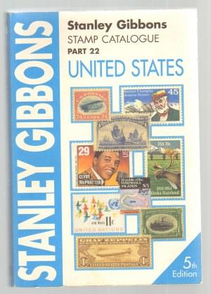 Katalog znaczków USA - 5 edycja - Stanley Gibbons