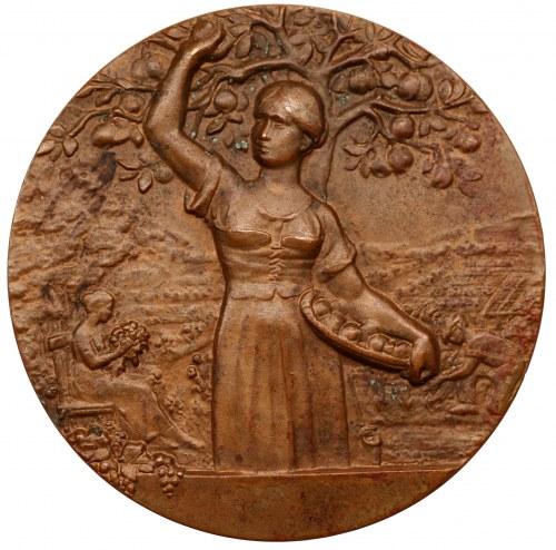Medal - Niemcy - Duisburg - wystawa ogrodnicza 1908