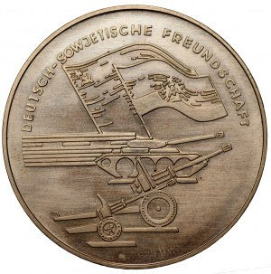 Medal - przyjaźń niemiecko - radziecka 1945
