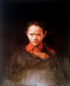 Jan Dubrowin, Czerwona bluzka, 2017