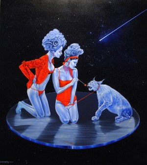 Mariusz Zdybał, Taming the galactic lynx, 2014