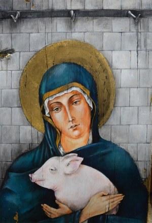 Borys Fiodorowicz, Madonna of Saint Francis, 2016
