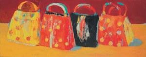 Jolanta Caban, Bags on Yelloow Tablecloth