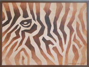 Danuta Niklewicz, Brown Zebra composition, 2017