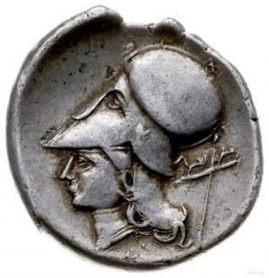 stater 330-250 pne; Aw: Pegaz lecący w lewo, pod nim Λ,...