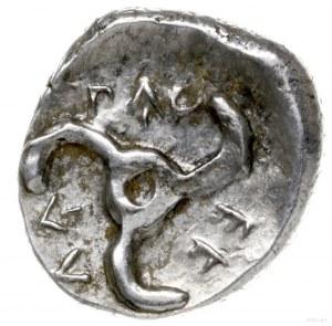 1/3 statera ok. 380-360 pne; Aw: Głowa lwa na wprost; R...