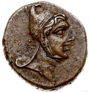 brąz ok. 85-65 pne; Aw: Głowa Perseusza w czapce frygij...
