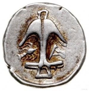 drachma 400-350 pne, Aw: Głowa Gorgony na wprost; Rw: K...