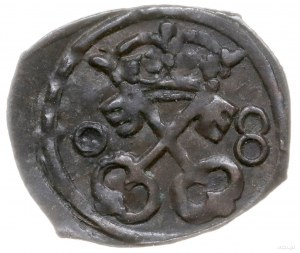 denar 1608, Poznań; skrócona data 0-8; H-Cz. 1243 (R5),...