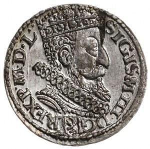 Zygmunt III Waza, trojak koronny 1606, mennica Kraków