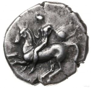 didrachma (nomos) ok. 300-280 pne; Aw: Nagi młodzieniec...