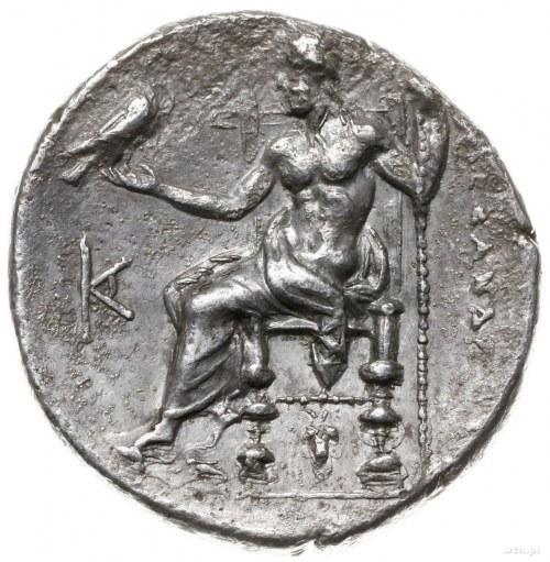 tetradrachma ok. 323-280 pne, mennica w Azji Mniejszej;...