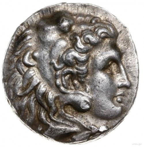 tetradrachma ok. 325-320 pne, mennica Babilon; Aw: Głow...