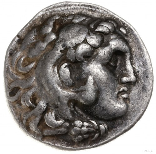 tetradrachma ok. 280-274 pne, mennica Pergamon, wybita ...