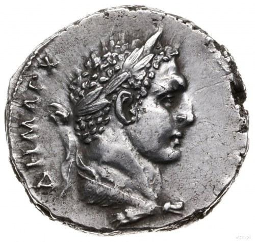 tetradrachma bilonowa 103-109, mennica Tyr; Aw: Popiers...