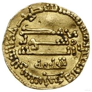 """dinar 191 AH (AD 807), bez nazwy kalifa (z napisem """"w i..."""