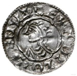 denar typu quatrefoil, 1018-1024, mennica London, mince...