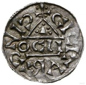 denar 1018-1026, mincerz Oc; Napis HEINRICVS DVX wkompo...