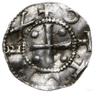 denar 983-1002; Krzyż z kulkami w kątach, OTTO REX / Na...
