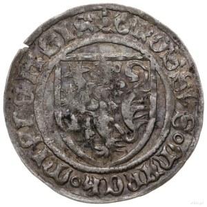 grosz miśnieński 1417-1424, Freiberg; odmiana z czterol...